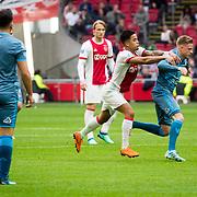NLD/Amsterdam/20180408 - Ajax - Heracles, Justin Kluivert