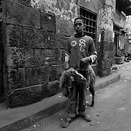 Egypt. Cairo : area of  the Mosque SULTAN HASSAN islamic Cairo  Cairo