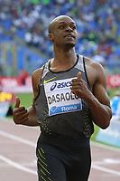 James Dasaolu GBR Winner 100m Men  <br /> Roma 02-06-2016 Stadio Olimpico.<br /> IAAF Diamond League 2016<br /> Atletica Legera <br /> Golden Gala Meeting - Track and Field Athletics Meeting<br /> Foto Cesare Purini / Insidefoto