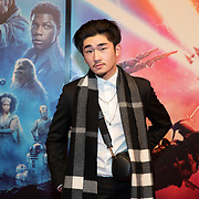 NLD/Amsterdam/20191218 - Premiere van Star Wars: The Rise of Skywalker, Hanwe Chang