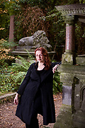 Novelist Audrey Niffenegger whose last book, The Time Traveler's Wife has just been made into a film. Her new novel is called Her Fearful Symmetry. It's the story of twins who move to London to an apartment left them by their dead aunt. A good deal of the novel takes place at Highgate Cemetery where in real life Niffenegger volunteers as a guide