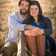 Kelly and Kevin enjoying the late day sun on a gorgeous fall afternoon outside Boulder,CO.