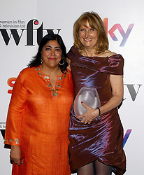 Gurinder Chadha presented Beryl Richards with the ITV Studios achievement of the year award at the Women in Film & TV Awards at the Hilton hotel in central London.