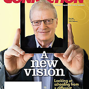 Sir Ken Robinson for Costco Connection, lifestyle magazine of Costco Inc.