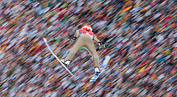 01.01.2016, Olympiaschanze, Garmisch Partenkirchen, GER, FIS Weltcup Ski Sprung, Vierschanzentournee, Bewerb, im Bild Richard Freitag (GER) // Richard Freitag of Germany during his Competition Jump of Four Hills Tournament of FIS Ski Jumping World Cup at the Olympiaschanze, Garmisch Partenkirchen, Germany on 2016/01/01. EXPA Pictures © 2016, PhotoCredit: EXPA/ JFK