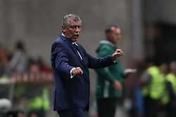 August 31, 2017 - Porto, Porto, Portugal - Portugal's head coach Fernando Santos during the FIFA World Cup Russia 2018 qualifier match between Portugal and Faroe Islands at Bessa Sec XXI Stadium on August 31, 2017 in Porto, Portugal. (Credit Image: © Dpi/NurPhoto via ZUMA Press)