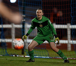 Notts County Ladies FC's Megan Walsh - Mandatory by-line: Paul Knight/JMP - Mobile: 07966 386802 - 23/02/2016 -  FOOTBALL - Stoke Gifford Stadium - Bristol, England -  Bristol City Women v Notts County Ladies - Pre-season friendly