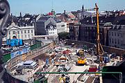 Construction site, Copenhagen, Denmark