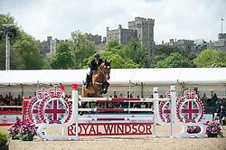 Williams Guy, GBR, Rouge De Ravel<br /> CSI5* Jumping<br /> Royal Windsor Horse Show<br /> © Hippo Foto - Jon Stroud