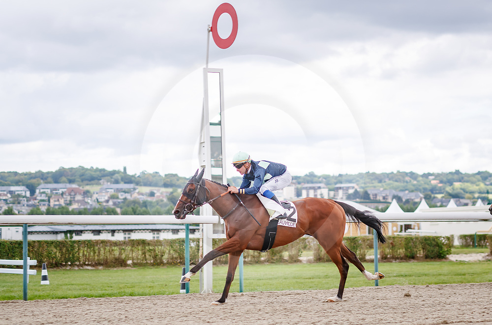 French Bere (S. Pasquier) wins Prix de Mervilly in Deauville, France  11/08/2018, photo: Zuzanna Lupa