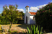 Small Greek Orthodox church, Fanari, Argostoli, Small Cephalonia, Ionian Islands, Greece
