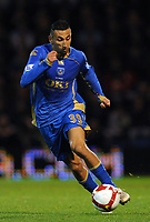 pFotball<br /> England<br /> Foto: Fotosports/Digitalsport<br /> NORWAY ONLY<br /> <br /> Nadir Belhadj (Portsmouth)  <br /> <br /> 26.10.08  Portsmouth v Fulham (1-1)  Premier League Fratton