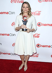 LAS VEGAS, NV, USA - APRIL 26: CinemaCon Big Screen Achievement Awards 2018 held at Omnia Nightclub at Caesars Palace during CinemaCon, the official convention of the National Association of Theatre Owners on April 26, 2018 in Las Vegas, Nevada, United States. 26 Apr 2018 Pictured: Jodie Foster. Photo credit: Xavier Collin/Image Press Agency / MEGA TheMegaAgency.com +1 888 505 6342
