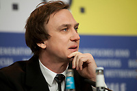 Actor Lars Eidinger at the press conference for the film Persian Lessons at the 70th Berlinale International Film Festival, on Saturday 22nd February 2020, Hotel Grand Hyatt, Berlin, Germany. Photo credit: Doreen Kennedy