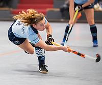HAMBURG  (Ger) - 06  LMHC Laren v Club Campo de Madrid (Esp) (6-4)   foto: Mila Muyselaar (Laren).    Eurohockey Indoor  Club Cup 2019 Women . WORLDSPORTPICS COPYRIGHT  KOEN SUYK