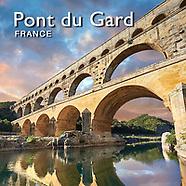 Pictures of Roman Aqueduct Pont du Gard - France -