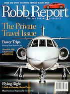 Magazine Cover - Robb Report Falcon 200