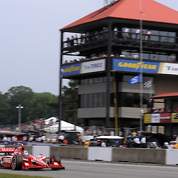 8 August, 2010; Race winner DARIO FRANCHITTI of Target Chip Ganassi Racing during the Izod IndyCar Series Honda Indy 200 at the Mid-Ohio Sports Car Course in Lexington, Ohio..Mandatory Credit: Will Schneekloth / Southcreek Global