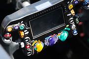 May 25-29, 2016: Monaco Grand Prix. Lewis Hamilton (GBR), Mercedes steering wheel