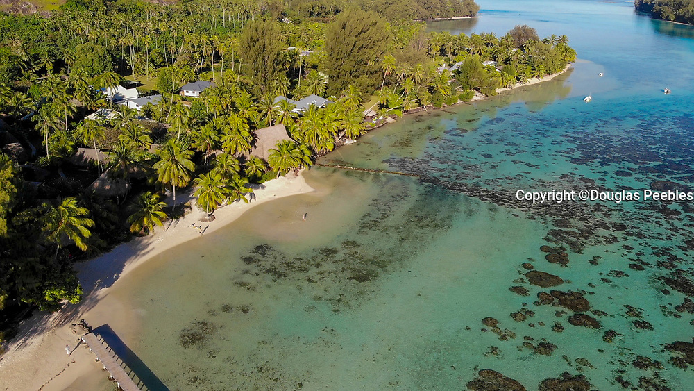 Les Tipaniers Hotel, Tiahura, Moorea, French Polynesia, South Pacific