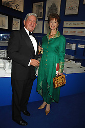 Actress MAUREEN LIPMAN and SIR JEREMY ISAACS at a gala dinner for the Theatre Royal Bury St.Edmunds to celebrate the near completion of the restoration of the Grade 1 listed theatre, held at the Royal Academy, Piccadilly, London on 9th July 2007.<br /><br />NON EXCLUSIVE - WORLD RIGHTS