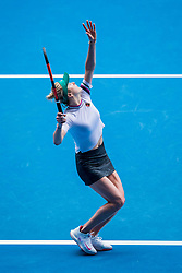 January 17, 2019 - Melbourne, VIC, U.S. - MELBOURNE, VIC - JANUARY 17: ELINA SVITOLINA (UKR) during day four match of the 2019 Australian Open on January 17, 2019 at Melbourne Park Tennis Centre Melbourne, Australia (Photo by Chaz Niell/Icon Sportswire) (Credit Image: © Chaz Niell/Icon SMI via ZUMA Press)