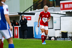 Jemma Purfield of Bristol City Women- Mandatory by-line: Will Cooper/JMP - 18/10/2020 - FOOTBALL - Twerton Park - Bath, England - Bristol City Women v Birmingham City Women - Barclays FA Women's Super League