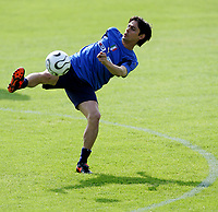 Fotball<br /> Italia<br /> Foto: Graffiti/Digitalsport<br /> NORWAY ONLY<br /> <br /> Roma<br /> 02.05.2006<br /> Landslagstrening Italia<br /> Filippo Inzaghi
