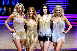 Faye Tozer, Stacey Dooley, Lauren Steadman and Ashley Roberts (from left to right) pose for photographers during a photocall before the opening night of the Strictly Come Dancing Tour 2019 at the Arena Birmingham, in Birmingham. Picture date: Thursday January 17, 2019. Photo credit should read: Aaron Chown/PA Wire