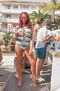 Exclusive<br /> Amy child's pictured at BH hotels in Magaluf also pictured with Mario Falcone <br /> ©Exclusivepix Media