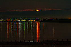 Pictured: <br />The Snow Moon - Edinburgh - 280221<br /><br />Dave Cullen | EEm 280221