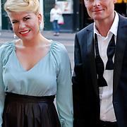 NLD/Amsterdam/20111002 - Uitreiking John Kraaijkamp awards 2011, Annemarie Jung en partner Burt Rutteman