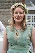 TARKA RUSSELL;  2016 SERPENTINE SUMMER FUNDRAISER PARTY CO-HOSTED BY TOMMY HILFIGER. Serpentine Pavilion, Designed by Bjarke Ingels (BIG), Kensington Gardens. London. 6 July 2016