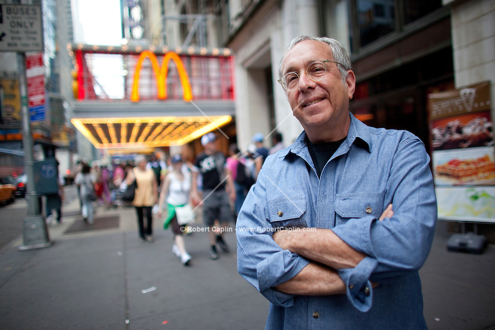 Irwin Kruger, a former leading McDonald's franchisee who recently left McDonald's and signed a deal to franchise with a start-up chain, Smashburger. Mr. Kruger designed, built and, until a few weeks ago, operated the McDonalds on 42nd Street in New York...Photo by Robert Caplin