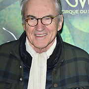 London, England, UK. 10th January 2018. Larry Lamb arrives at Cirque du Soleil OVO - UK premiere at Royal Albert Hall.