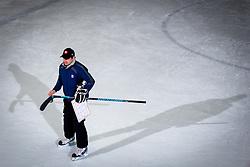 Bostjan Kos - Ketna at practice of Slovenian Women National Ice Hockey Team for World Championship Division II Group B in Iceland on March 20, 2014 in Ledna dvorana, Bled, Slovenia. Photo by Matic Klansek Velej / Sportida
