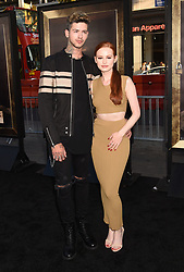 HOLLYWOOD, CA - AUGUST 07: Actor attends the premiere of New Line Cinema's 'Annabelle: Creation' at TCL Chinese Theatre IMAX on August 07, 2017 in Los Angeles, California. 07 Aug 2017 Pictured: HOLLYWOOD, CA - AUGUST 07: Recording artist Travis Mills (L) and actress Madelaine Petsch attend the premiere of New Line Cinema's 'Annabelle: Creation' at TCL Chinese Theatre IMAX on August 07, 2017 in Los Angeles, California. Photo credit: Jeffrey Mayer / MEGA TheMegaAgency.com +1 888 505 6342