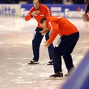 NLD/Heerenveen/20060122 - WK Sprint 2006, 2de 1000 meter dames, Jacques Orie en