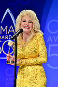 02 November 2016 - Nashville, Tennessee - Dolly Parton. 50th Annual CMA Awards, CMA Awards 2016, Country Music's Biggest Night, held at Bridgestone Arena.