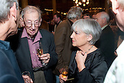 ERIC HOBSBAWM; MARY KAY WILMER, 30th Anniversary of the London Review of Books.  One Whitehall Place. ( National Liberal Club) London SW1. 29 October 2009