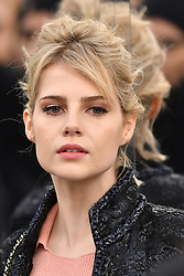 Lucy Boynton the Chanel Haute Couture Spring Summer 2017 shows as part of Paris Fashion Week on January 24, 2017 in Paris, France. Photo by Laurent Zabulon/ABACAPRESS.COM