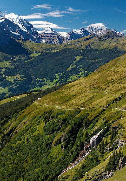 Switzerland - Jungfrau view from First