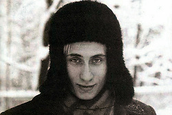 Before rising to power as one of the most infamous leaders in the world, Putin was a playful, hipster-dressing man in love. 1983 - Russia  - VLADIMIR PUTIN as a young man. (Credit Image: © Russian Archives via ZUMA Wire)