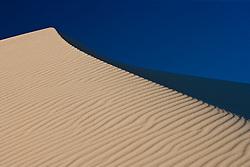 Dune and sky, Monahans Sandhills State Park, Texas, USA.