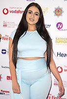 Amel Rachedi at the Sapper Support celebrity charity event for the launch of their brand-new PTSD support lanyard at The Army & Navy Club, London