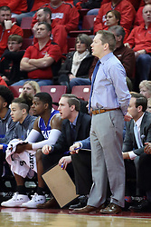 21 February 2018:  Niko Medved during a College mens basketball game between the Drake Bulldogs and Illinois State Redbirds in Redbird Arena, Normal IL