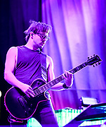 Keith Wallen  , Rhythm Guitar with Breaking Benjamin performs at Fivepoint Amphitheater in Irvine Ca. on September 16th, 2016