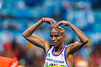 Mo Farah (GBR) Men's 10000m Winner   during the Olympic Games RIO 2016, Athletics, on August 13, 2016, in Rio, Brazil - Photo Vincent Curutchet / KMSP / DPPI