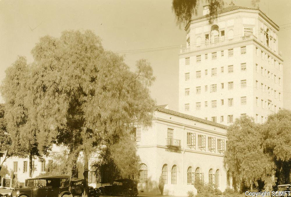 1930 Hollywood Athletic Club on Sunset Blvd.