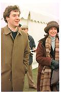 George Osborne; Lady Osborne. Oxford University  ( Bullingdon ) Point to Point. Kingston Blount. 1 Feb 1997. ONE TIME USE ONLY - DO NOT ARCHIVE  © Copyright Photograph by Dafydd Jones 248 clapham Rd. London Sw9 0PZ. 0207 820 0771 www.dafjones.com